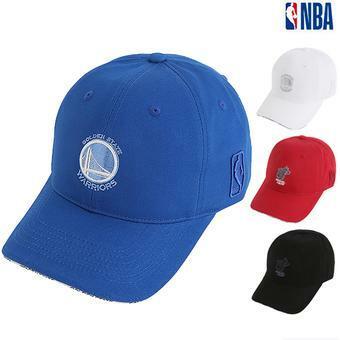 NBA팀로고 샌드위치포인트 볼캡 (N195AP258P)