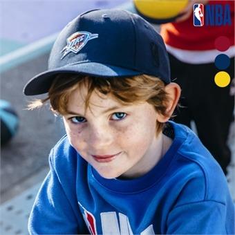 [NBA KIDS] NBA팀로고 고주파 와펜장식 볼ㄹ캡 (K195AP051P)