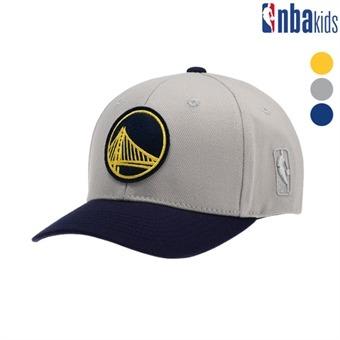 [NBA KIDS] 챙 뉴배색 볼캡(모혼방) (K195AP060P)
