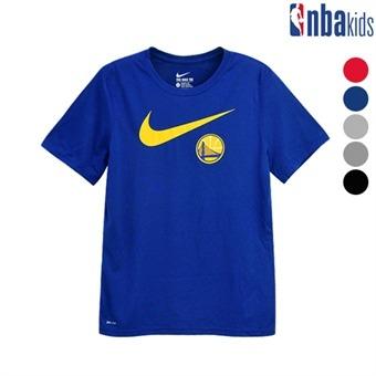 [NBAxNIKE] DRI-FIT 팀로고 티셔츠 [주니어] (K195TS075P)
