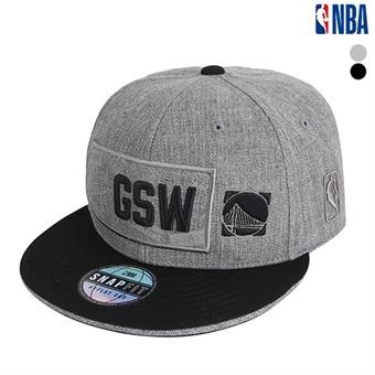 GSW WARRIORS 실크프인트 와펜 HYFLAT CAP(N195AP625P)