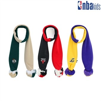 [NBA KIDS] 3색 방울 목도리 (K195AM173P)