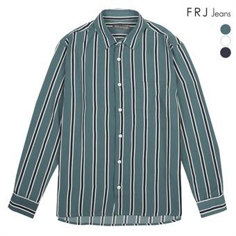 남성 세미오버 기본 카라 폴리 ST 셔츠 (F92M-SH012A)