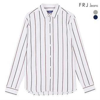 남성 온부기본카라 코튼 린넨 선염ST셔츠 (F96M-SH933A)