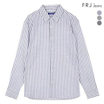 남성 온부기본카라 코튼 슬럽 선염ST셔츠 (F96M-SH923A)