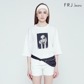 여성 분또 전사 티셔츠 (F92F-TM523A)