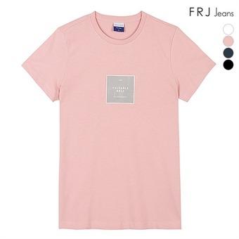 유니 싱글박스 프린트 티셔츠 (F96U-TM802B)