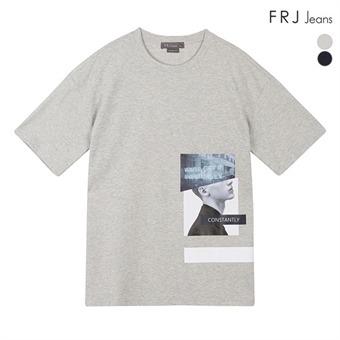 남성 강연분또 실사 티셔츠 (F92M-TM173B)