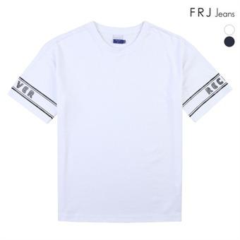 남성 분또 소매 그래픽 티셔츠 (A92M-TM133B)