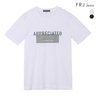 남성 흡한속건면 프린트 티셔츠 (F92M-TM044A)
