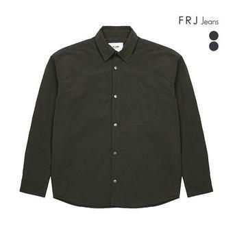 남성 오버핏 패딩 셔츠형 자켓(F94M-MM069A)