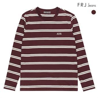 남성 선염 스트라이프 티셔츠 (F73M-TS158S)