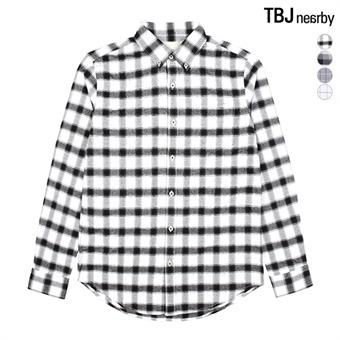 남성 옥스퍼드 체크 셔츠(T161SH011P)