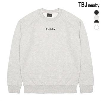 유니 라운드 라글란 맨투맨 티셔츠(T161Z5110P)