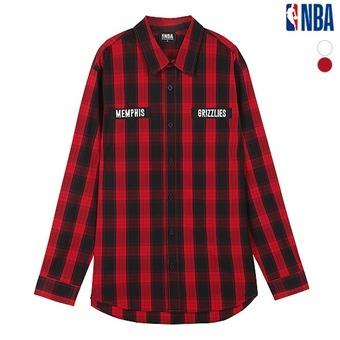 남성 멤피스 그리즐리스 매쉬 변형 셔츠 (N171SH331P)