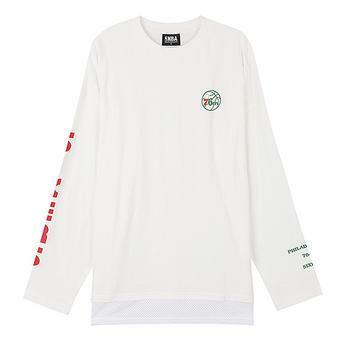 남성 필라델피아 76ERS 레이어드 티셔츠 (N171TS041P)