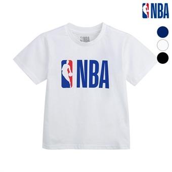 [NBA KIDS] NBA 기본로고 티셔츠 (N182TS515P)