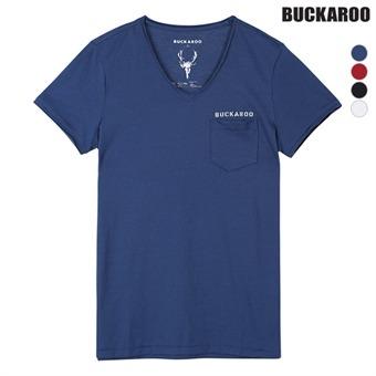 유니 30수슬럽 COOLON V넥 티셔츠 (B162Z4040P)