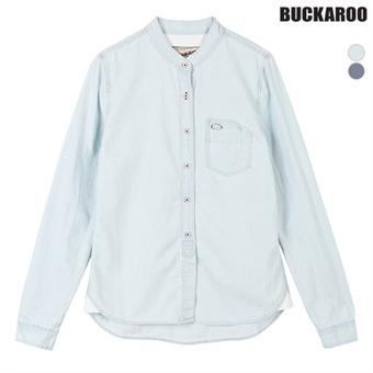 유니 차이나 스트라이프 ICE 긴팔 셔츠(B162DS050P)