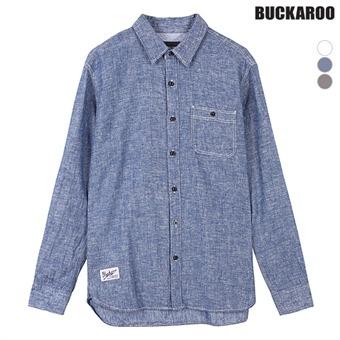 남성 코튼린넨 포켓장식 긴팔셔츠(B162SH300P)