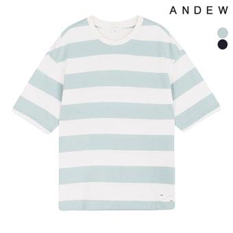 유니 보더 스트라이프 티셔츠(O172TS020P)