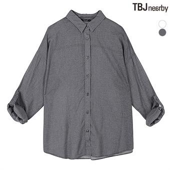 여성 제기장 루즈핏 아사 셔츠(T162SH600P)