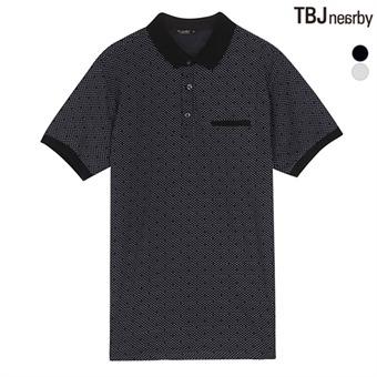 남성 패턴 애리 티셔츠(T162TS240P)