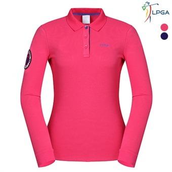 여G 앞가슴 LPGA 요꼬 티셔츠(L163TS624P)