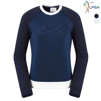 여G 앞가슴 LPGA 엠보 라운드 티셔츠(L163TS724P)