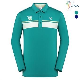 남P 등판스트라이프 배색 티셔츠(L163TS225P)