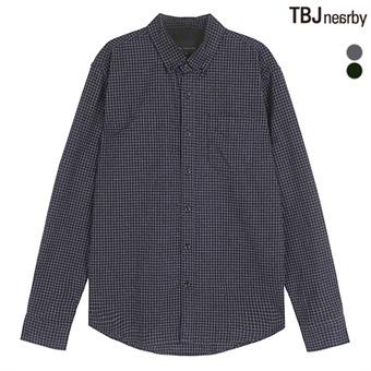 남성 제기장 울라이트 멜란지 셔츠(솔리드/체크)(T164SH400P)