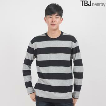 유니 10수 싱글 댕깡 스트라이프 티셔츠(T164TS050P)