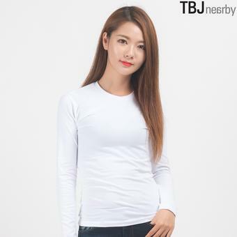 여성 제기장 기모스판 싱글 티셔츠(T164TS620P)