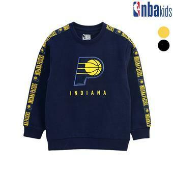 [NBA KIDS]테이프포인트 맨투맨 티셔츠(기모) (K184TS004P)