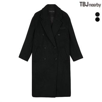 여성 롱기장 더블 방모 코트(T174CT920P)