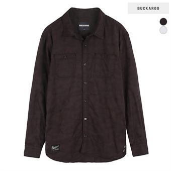 남성 면소재 까모 자카드소재 셔츠(B165SH130P)