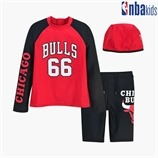 [NBA KIDS] CHI BULLS 래시가드 BOY SET (K205ST910P)