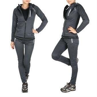 Xtrasporty 페어리 S라인 여성 트레이닝복 세트(X72TP26W)/운동복/여성바지/츄리닝/집업/후드/단체복/슬림핏