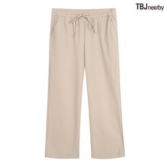 여성 얇은TR 릴렉스핏 올밴딩 팬츠(T202PT741P)